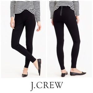 J Crew Black Pixie Pants Size 6